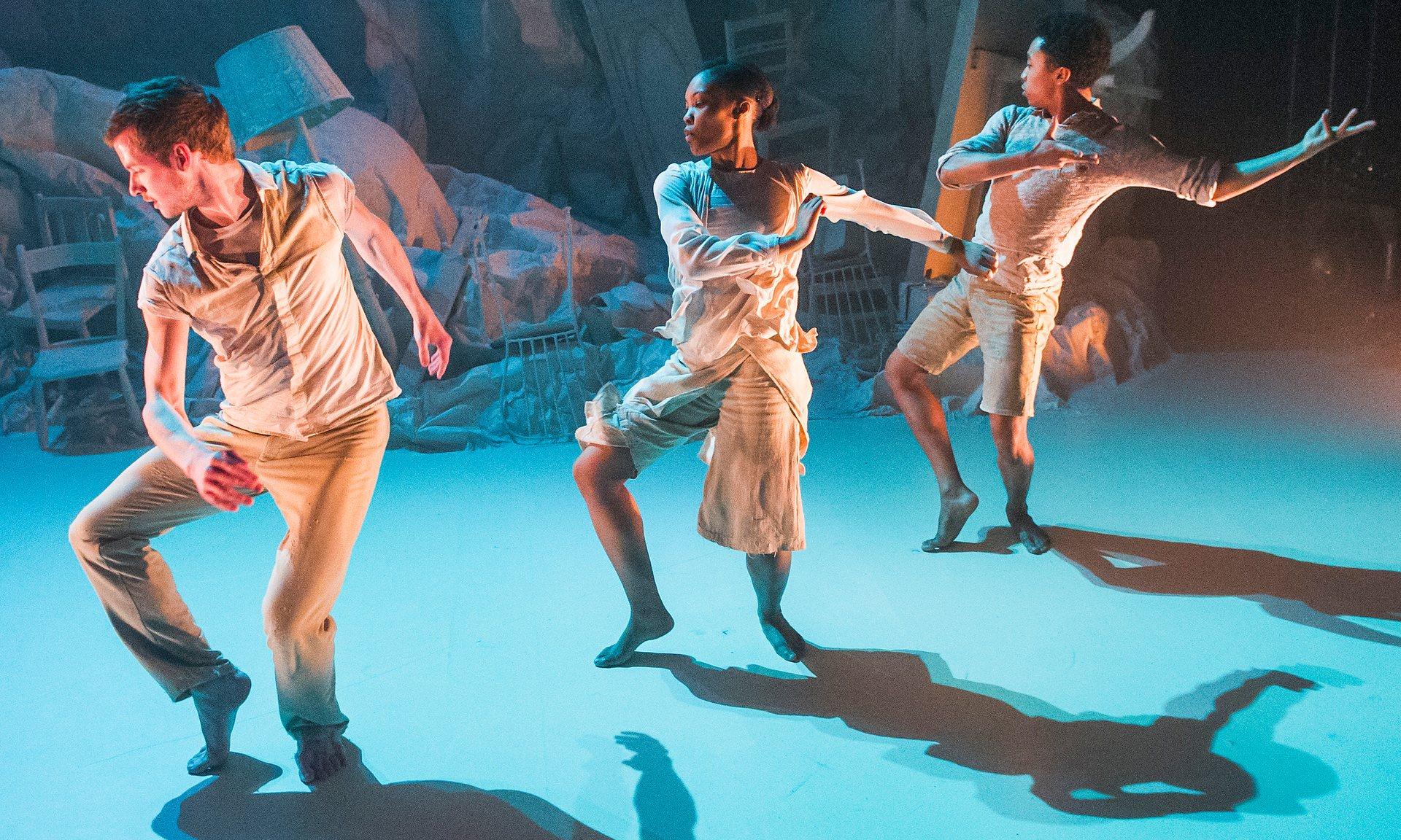 Terra review – new Ben Okri poem accompanies earthy dance